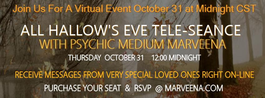All Hallow's Eve Virtual Seance 1
