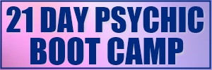 BADGE 21 DAY PSYCHIC BOOT CAMP